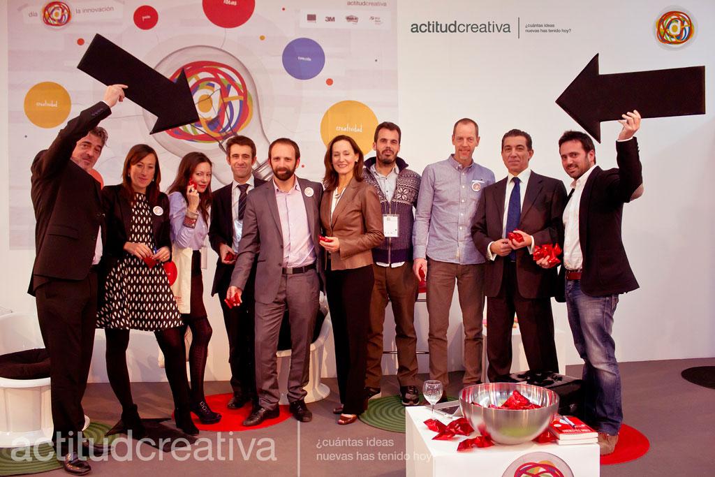 El 28 de noviembre de 2013 participo en el «Dia de la innovación» de Actitud Creativa en Madrid