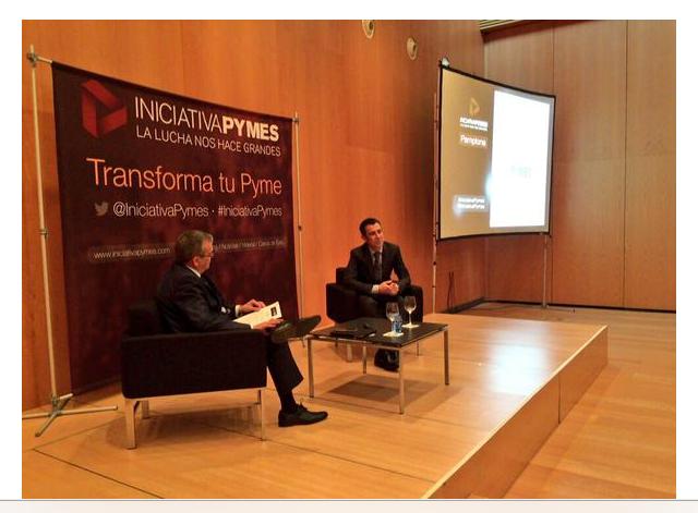 El 26 de mayo en el evento de Iniciativapymes de Interban.