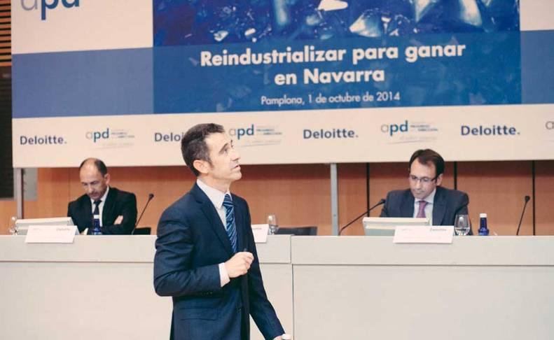 El 1 de octubre en Pamplona, en jornada de APD: Reindustrializar Navarra para ganar. Hablo sobre «Flexibilizar el mercado laboral y contener los costes laborales».