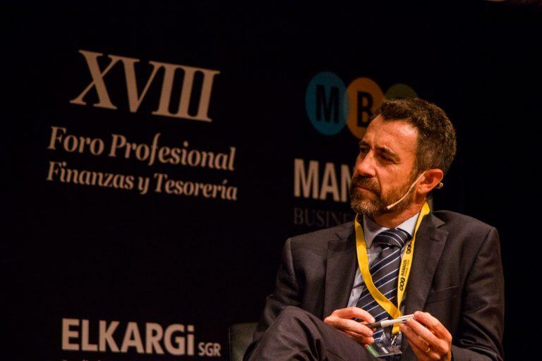 El 27 de septiembre de 2017 en el Manager Forum de Interban en Bilbao.