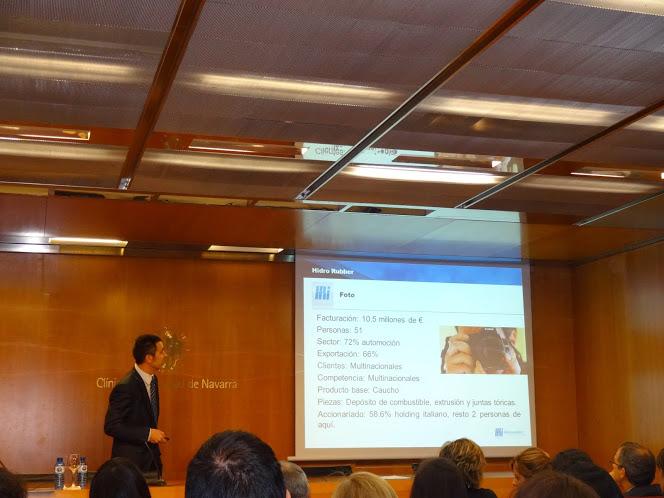El pasado 3 de abril de 2014 expliqué nuestro modelo en la Clinica Universitaria de Navarra dentro de la jornadas «II Jornadas Europeas de RRHH «