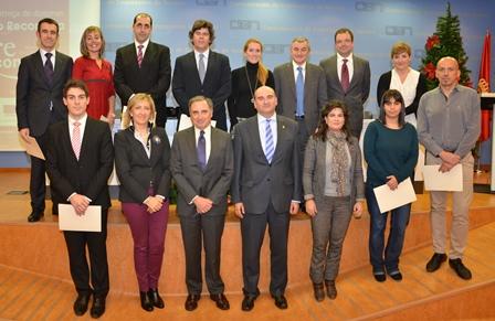 El 12 de diciembre de 2013 recogiendo el diploma Re-concilia
